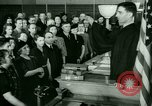 Image of oath of citizenship Bridgeport Connecticut USA, 1941, second 9 stock footage video 65675065916