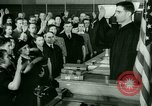 Image of oath of citizenship Bridgeport Connecticut USA, 1941, second 10 stock footage video 65675065916