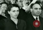 Image of oath of citizenship Bridgeport Connecticut USA, 1941, second 11 stock footage video 65675065917