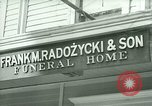 Image of Shops in Polish neighborhood of Bridgeport Connecticut Bridgeport Connecticut USA, 1941, second 4 stock footage video 65675065920