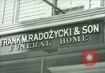 Image of Shops in Polish neighborhood of Bridgeport Connecticut Bridgeport Connecticut USA, 1941, second 5 stock footage video 65675065920