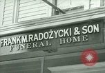 Image of Shops in Polish neighborhood of Bridgeport Connecticut Bridgeport Connecticut USA, 1941, second 6 stock footage video 65675065920