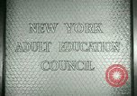 Image of New York Adult Education Council New York United States USA, 1941, second 6 stock footage video 65675065922