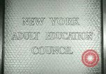 Image of New York Adult Education Council New York United States USA, 1941, second 10 stock footage video 65675065922