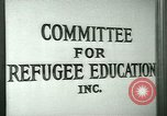 Image of immigrants and refugees learn use of telephone New York United States USA, 1941, second 2 stock footage video 65675065923