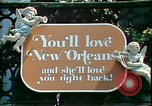 Image of French culture New Orleans Louisiana USA, 1978, second 7 stock footage video 65675065931
