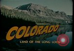 Image of vacations Colorado United States USA, 1978, second 2 stock footage video 65675065943