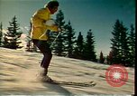 Image of skiing Colorado United States USA, 1978, second 4 stock footage video 65675065948