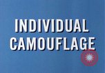 Image of individual camouflage United States USA, 1967, second 12 stock footage video 65675065971