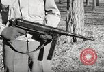 Image of German MP40 Submachine gun United States USA, 1944, second 12 stock footage video 65675065985