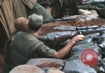 Image of United States Marine sniper duty Vietnam War Khe Sanh Vietnam, 1968, second 7 stock footage video 65675065993