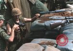Image of United States Marine sniper duty Vietnam War Khe Sanh Vietnam, 1968, second 9 stock footage video 65675065993