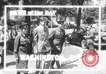 Image of Soviet Russian sniper Lyudmila Pavlichenko Washington DC USA, 1942, second 1 stock footage video 65675065997