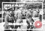 Image of Soviet Russian sniper Lyudmila Pavlichenko Washington DC USA, 1942, second 3 stock footage video 65675065997