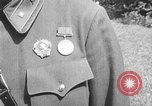 Image of Soviet Russian sniper Lyudmila Pavlichenko Washington DC USA, 1942, second 10 stock footage video 65675065997
