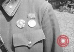 Image of Soviet Russian sniper Lyudmila Pavlichenko Washington DC USA, 1942, second 11 stock footage video 65675065997