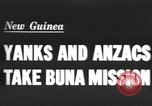 Image of Allied soldiers Buna New Guinea, 1943, second 1 stock footage video 65675066018
