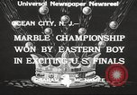 Image of marble championship won by Aaron Butash Ocean City New Jersey USA, 1933, second 6 stock footage video 65675066022
