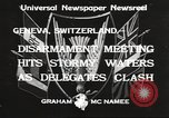 Image of World Disarmament Conference Geneva Switzerland, 1933, second 2 stock footage video 65675066028