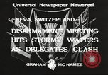Image of World Disarmament Conference Geneva Switzerland, 1933, second 3 stock footage video 65675066028