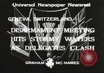 Image of World Disarmament Conference Geneva Switzerland, 1933, second 5 stock footage video 65675066028