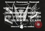 Image of World Disarmament Conference Geneva Switzerland, 1933, second 8 stock footage video 65675066028