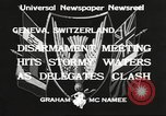 Image of World Disarmament Conference Geneva Switzerland, 1933, second 9 stock footage video 65675066028