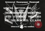 Image of World Disarmament Conference Geneva Switzerland, 1933, second 10 stock footage video 65675066028