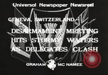 Image of World Disarmament Conference Geneva Switzerland, 1933, second 11 stock footage video 65675066028