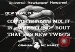 Image of contortionists New York United States USA, 1933, second 1 stock footage video 65675066035