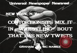 Image of contortionists New York United States USA, 1933, second 2 stock footage video 65675066035