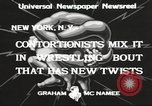 Image of contortionists New York United States USA, 1933, second 8 stock footage video 65675066035
