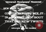 Image of contortionists New York United States USA, 1933, second 9 stock footage video 65675066035