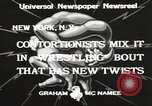 Image of contortionists New York United States USA, 1933, second 12 stock footage video 65675066035