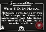 Image of Franklin Roosevelt Pearl Harbor Hawaii USA, 1934, second 5 stock footage video 65675066039