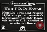 Image of Franklin Roosevelt Pearl Harbor Hawaii USA, 1934, second 11 stock footage video 65675066039