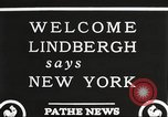 Image of Charles Lindbergh New York United States USA, 1927, second 3 stock footage video 65675066045