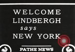 Image of Charles Lindbergh New York United States USA, 1927, second 5 stock footage video 65675066045