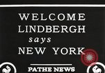 Image of Charles Lindbergh New York United States USA, 1927, second 7 stock footage video 65675066045