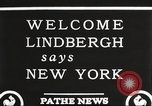 Image of Charles Lindbergh New York United States USA, 1927, second 9 stock footage video 65675066045