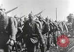 Image of German infantry proceeding to the front Germany, 1916, second 6 stock footage video 65675066054