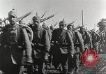 Image of German infantry proceeding to the front Germany, 1916, second 10 stock footage video 65675066054