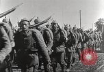 Image of German infantry proceeding to the front Germany, 1916, second 12 stock footage video 65675066054