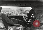 Image of scene from postwar movie about tank use in World War I England, 1916, second 7 stock footage video 65675066065