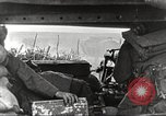 Image of scene from postwar movie about tank use in World War I England, 1916, second 11 stock footage video 65675066065