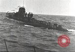 Image of German U boat Atlantic Ocean, 1918, second 4 stock footage video 65675066069