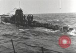 Image of German U boat Atlantic Ocean, 1918, second 6 stock footage video 65675066069