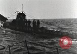 Image of German U boat Atlantic Ocean, 1918, second 9 stock footage video 65675066069