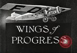 Image of aircraft reliability tour Dearborn Michigan USA, 1925, second 5 stock footage video 65675066082
