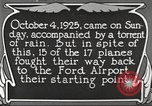 Image of Ford aircraft Dearborn Michigan USA, 1925, second 3 stock footage video 65675066085